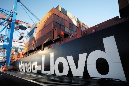 Crew evacuate burning Hapag-Lloyd ship in the Atlantic
