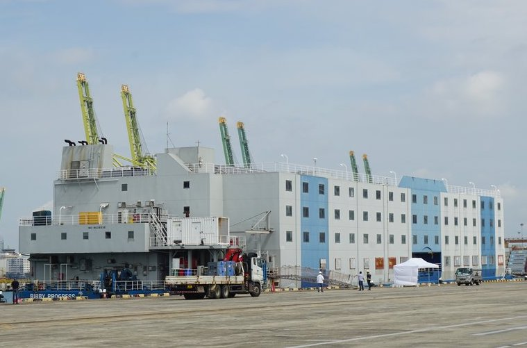 Singapore deploys floating accommodation in fight against Covid-19
