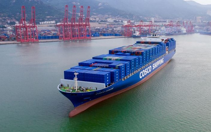 Cosco on course to overtake Hutchison in ports 'premier league'