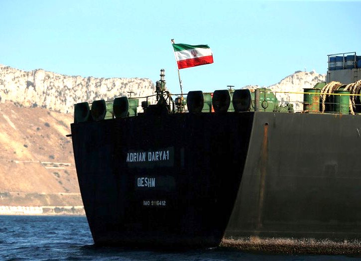 Controversial Iranian VLCC enters Turkish waters