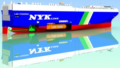 Photo of NYK contracts second LNG-fuelled PCTC