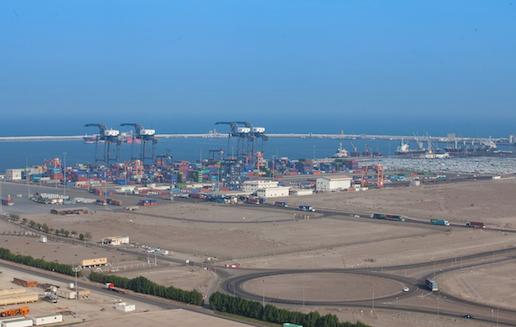 Gottwald mobile harbour crane delivered to Sohar Port