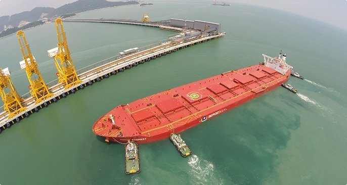 China Ore Shipping orders seven valemax ore carriers