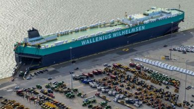 Photo of Car carriers park up