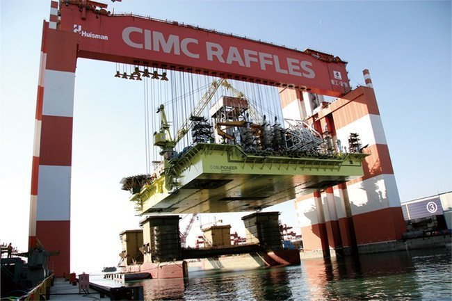CIMC Raffles fixes charter for jackup newbuilds with Pemex