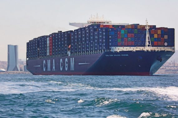 Hanjin Heavy wins CMA CGM trio of 20,600 teu orders