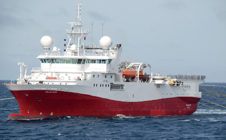 GC Rieber takes early redelivery of survey vessel from Dolphin Geophysical