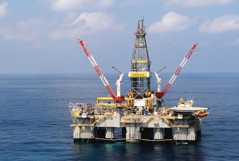 Ensco scraps three rigs