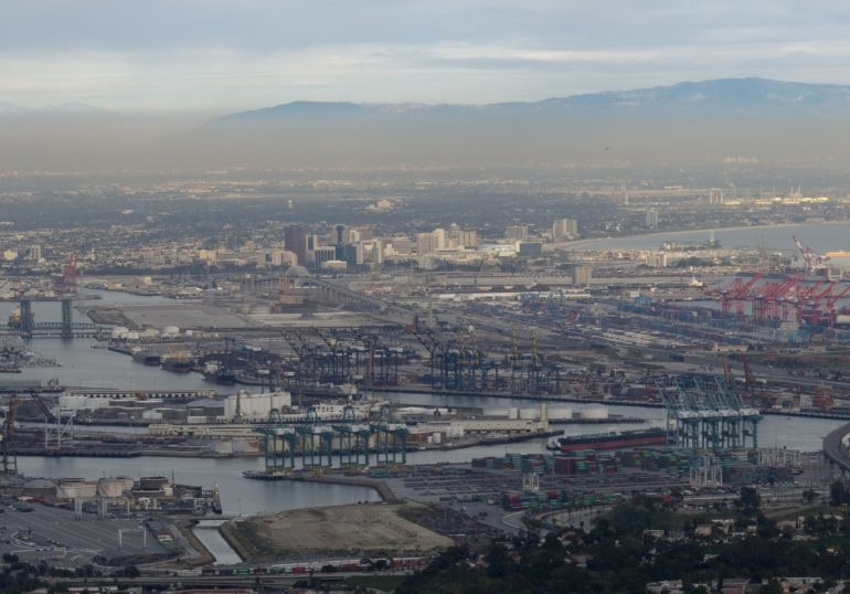 Solvent leak at Long Beach injures 13