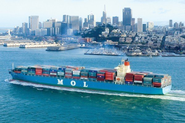 MOL links with Maersk and MSC to South America east coast