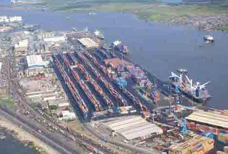 Ships waiting more than a month to offload boxes at Lagos