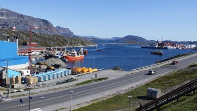 Photo of Container terminal for Greenland