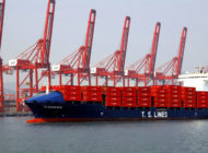 TS Lines takes on its largest ship