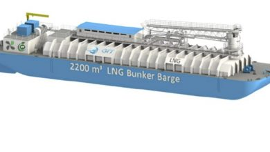 Photo of Contract signed for first LNG bunker barge in North America