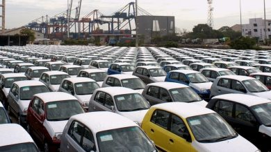 Photo of Automobile yard for ro-ro services at Pipavav port