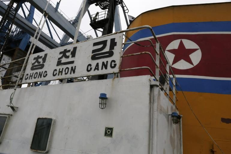 Singapore shipping firm blacklisted by US over North Korean weapons smuggling