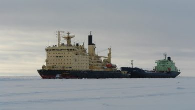 Photo of Arctic shipping volumes falling despite record ice-melt
