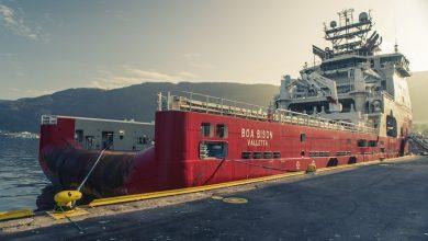 Photo of BOA reflags vessel