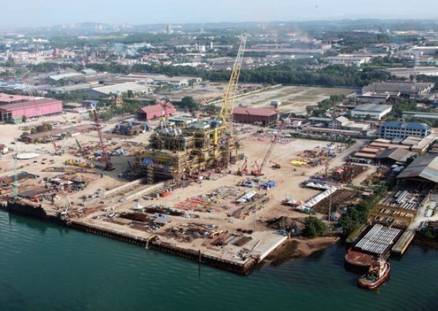 MMHE secures offshore structure agreement with Petronas