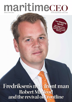 Maritime CEO Issue Two 2015 cover