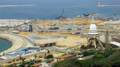 Photo of Sri Lanka suspends Chinese port project in Colombo