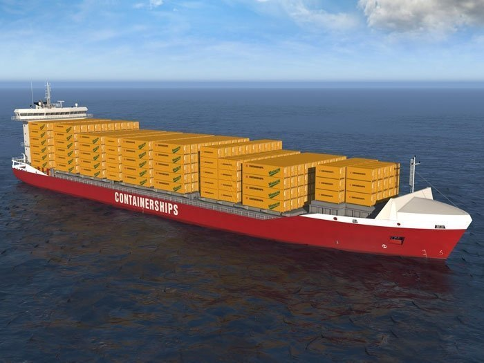 Containerships secures financing from CSSC for eight boxships