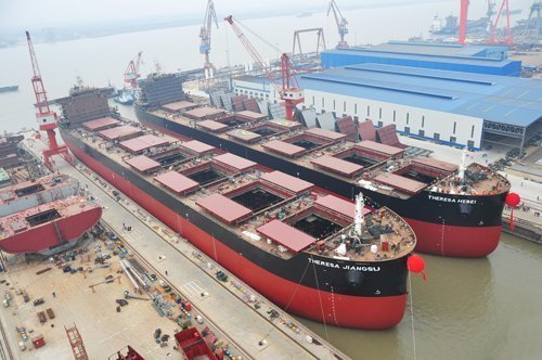 Number of active shipbuilders falls by 62% since 2009
