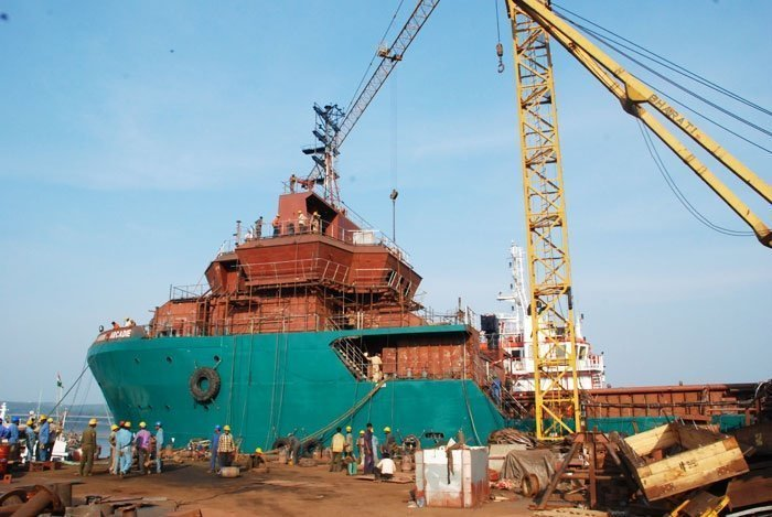 Bharati Shipyard on the brink, following winding-up petitions