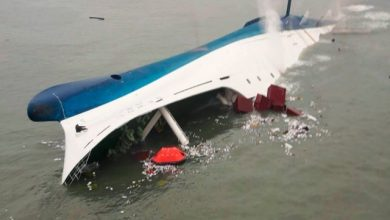 Photo of Tender launched to salvage Sewol