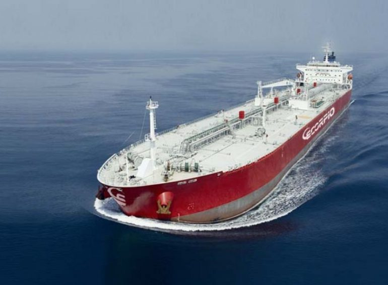 Scorpio tanker diverts to Reunion after nasty seafarer stabbing incident