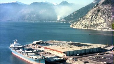 Photo of No long-term negative effects from Squamish dock fire, says report