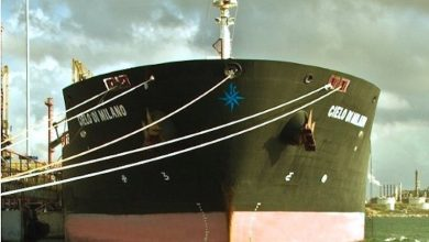Photo of d'Amico tanker caught up in oil theft row