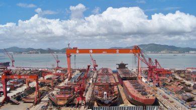 Photo of China Exim Bank provides $690m financing for 10 mega boxships at Jinhai Heavy Industry