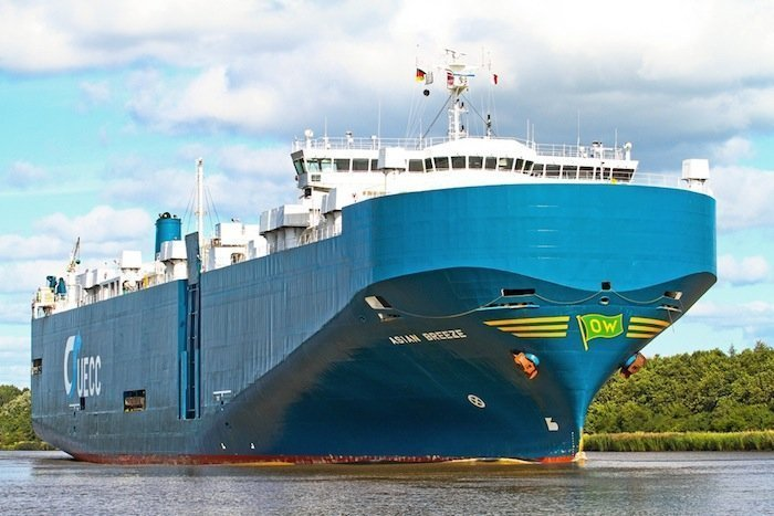 UECC faces fine as car carrier smashes into Kiel Canal jetty