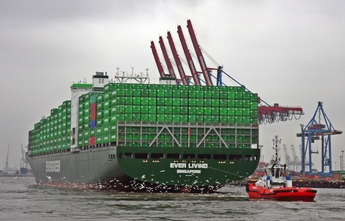 Evergreen confirms order for six 23,764 teu boxships at Samsung