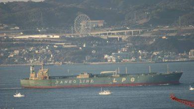Photo of Zodiac Maritime behind Sanko LPG exit