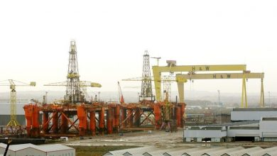 Photo of Rig fire at Harland and Wolff, 1,000 workers evacuated
