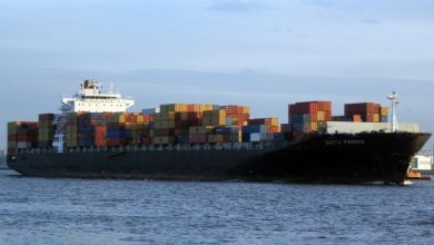 Photo of Zim charters panamax from Diana Containerships