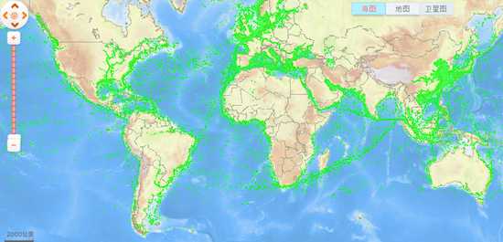 Beijing launches vessel-tracking site