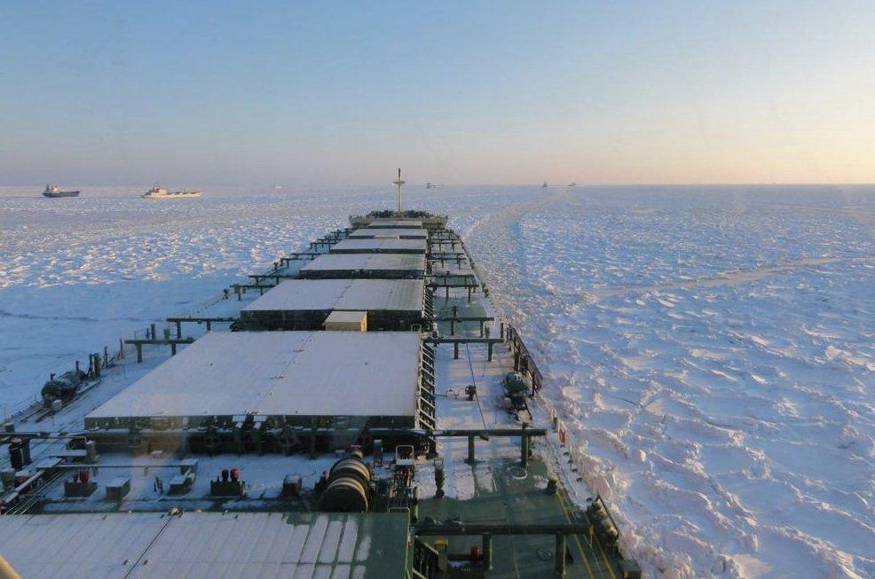 Pangaea wins $135m COA for ice-class vessels - Splash 247