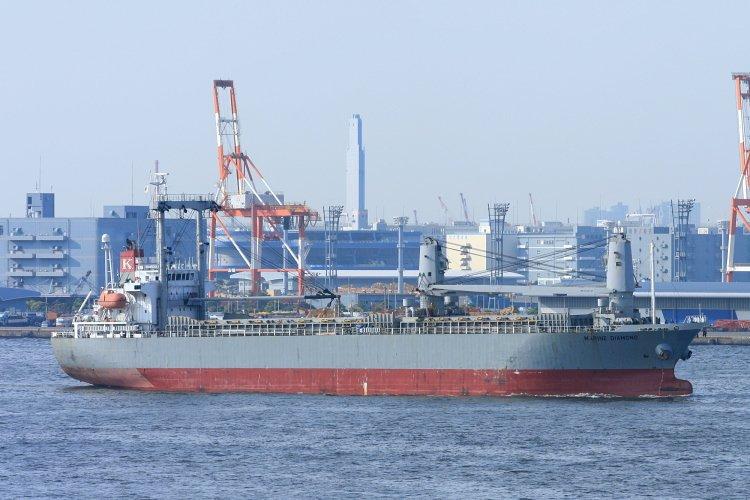 K Line vessel refloated