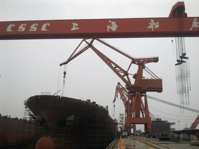 Shanghai Shipyard to suspend operations