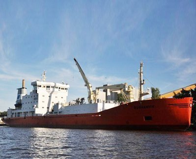 Cement carrier runs aground off Swedish coast