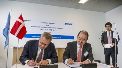 Photo of Maersk Line orders 11 ultra-large boxships from Daewoo for $1.8bn