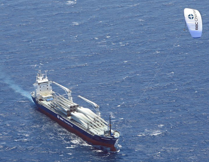 Wind forecast to become a force in ship propulsion