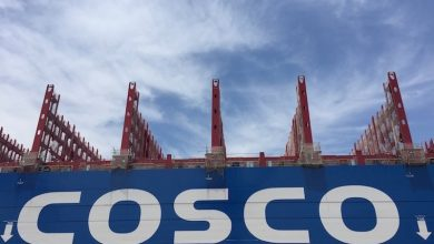 Photo of Cosco diverting cargo to less environmentally stringent Long Beach, LA port boss claims