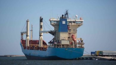 Photo of Kenza boxship free to leave Cagliari after two years' detention