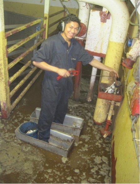 Live animal export trough sandals