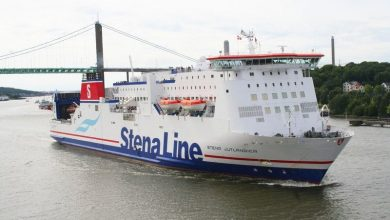 Photo of Stena Line ferry and tanker collide off Sweden