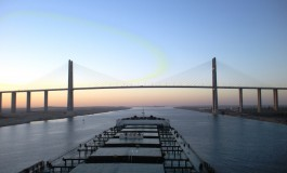 Egypt opens enlarged Suez Canal
